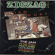 Click here for more info about 'Ian Dury - Zig Zag Magazine No. 91'