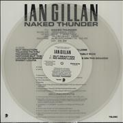 Click here for more info about 'Ian Gillan - Naked Thunder Sampler - Clear Vinyl'