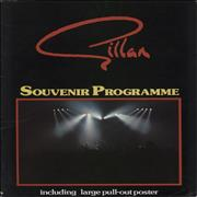 Click here for more info about 'Ian Gillan - Souvenir Programme + Poster - Autographed'