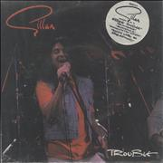 Click here for more info about 'Ian Gillan - Trouble - Double Pack - Autographed'