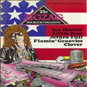 Click here for more info about 'Ian Hunter - Zig Zag #63'