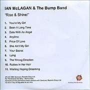 Click here for more info about 'Ian McLagan - Rise & Shine'