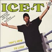 Click here for more info about 'Ice T - That's How I'm Livin + Poster'