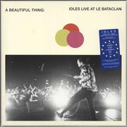 Click here for more info about 'Idles - A Beautiful Thing: Idles Live At Le Bataclan - Neon Orange Vinyl + White Sleeve'