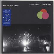 Click here for more info about 'Idles - A Beautiful Thing: Idles Live At Le Bataclan - Neon Pink Vinyl + Dark Grey Sleeve'