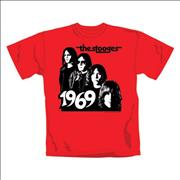 Click here for more info about 'Iggy & The Stooges - Band 1969 T-Shirt - Large'