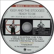 Click here for more info about 'Iggy & The Stooges - Ready To Die + Press Release'