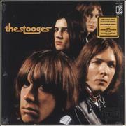 Click here for more info about 'Iggy & The Stooges - The Stooges - Clear & Black Swirl Vinyl'