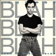 Iggy Pop Blah Blah Blah UK vinyl LP