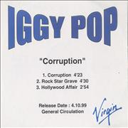 Click here for more info about 'Iggy Pop - Corruption - 3-track'