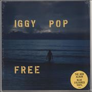 Click here for more info about 'Iggy Pop - Free - Sea Blue Vinyl - Sealed'