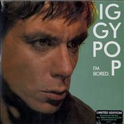 "Iggy Pop I'm Bored - RSD12 - Green Vinyl + Numbered Sleeve - Sealed UK 7"" vinyl"