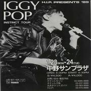 Click here for more info about 'Iggy Pop - Instinct Tour'