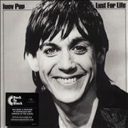 Iggy Pop Lust For Life - 180gm UK vinyl LP