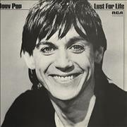 Iggy Pop Lust For Life UK vinyl LP