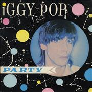 Iggy Pop Party UK vinyl LP