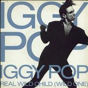 Click here for more info about 'Iggy Pop - Real Wild Child (Wild One) + Sleeve'