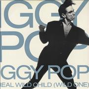 "Iggy Pop Real Wild Child UK 12"" vinyl"