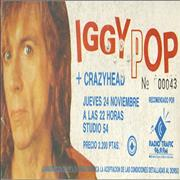 Click here for more info about 'Iggy Pop - Spanish Concert Ticket'