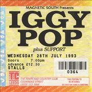 Click here for more info about 'Iggy Pop - Town And Country Club, Leeds'