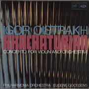 Click here for more info about 'Igor Oïstrakh - Khachaturian: Concerto For Violin And Orchestra'