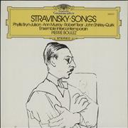Click here for more info about 'Igor Stravinsky - Songs'