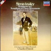 Click here for more info about 'Igor Stravinsky - Symphony In C & Symphony In Three Movements'