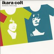 Click here for more info about 'Ikara Colt - Modern Feeling - Orange & Clear Vinyl'