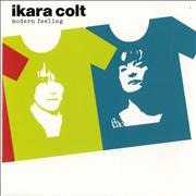 Click here for more info about 'Ikara Colt - Modern Feeling - Orange Vinyl'