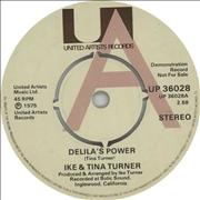 Click here for more info about 'Ike & Tina Turner - Delila's Power - A Label'