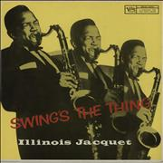 Illinois Jacquet Swing's The Thing Germany vinyl LP
