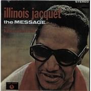 Illinois Jacquet The Message - Autographed USA vinyl LP
