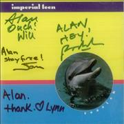 Click here for more info about 'Imperial Teen - Seasick - Fully Autographed'