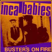 Click here for more info about 'Inca Babies - Buster's On Fire - Violet Vinyl'