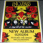 Click here for more info about 'Incubus - A Crow Left Of The Murder'