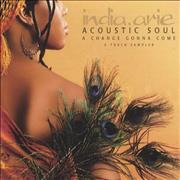 Click here for more info about 'India.Arie - Acoustic Soul...A Change Gonna Come'