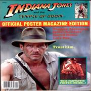 Click here for more info about 'Indiana Jones - Indiana Jones And The Temple Of Doom Poster Magazine'