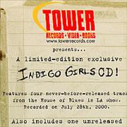 Click here for more info about 'Indigo Girls - A Limited-Edition Exclusive CD'