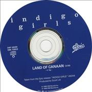 Click here for more info about 'Indigo Girls - Land Of Canaan'
