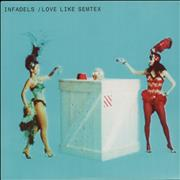 Click here for more info about 'Infadels - Love Like Semtex'