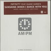Click here for more info about 'Infinity - Sunshine (When I Dance With You)'