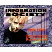 Click here for more info about 'Information Society - Express Yourself / What's On Your Mind ? - Remixes 99'