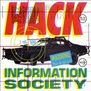 Click here for more info about 'Information Society - Hack - Gold promo stamped'
