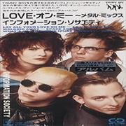 Click here for more info about 'Information Society - Love On Me'