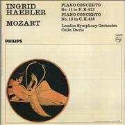 Click here for more info about 'Ingrid Haebler - Mozart: Piano Concerto No.11 in F / Piano Concerto No.13 in C'