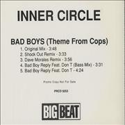 Click here for more info about 'Inner Circle - Bad Boys (Theme From Cops)'