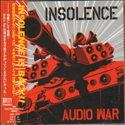 Click here for more info about 'Insolence - Audio War'