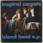 Click here for more info about 'Inspiral Carpets - Island Head E.P'