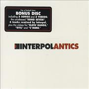 Click here for more info about 'Interpol - Antics - Sealed'