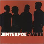 Click here for more info about 'Interpol - C'Mere - Numbered P/S'